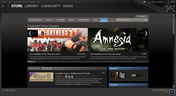 The state of gaming on Linux / 17 / 2013 / Archive