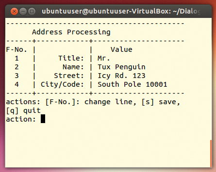 Create menus and dialogs for shell scripts / 21 / 2014 / Archive