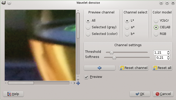 Adding new functions with GIMP plugins / 22 / 2014 / Archive