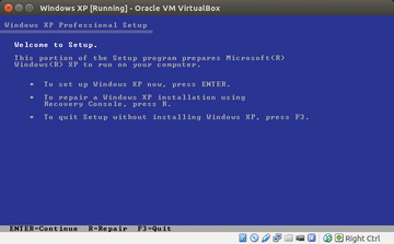 Linux and the virtual Windows XP machine / 23 / 2014 / Archive