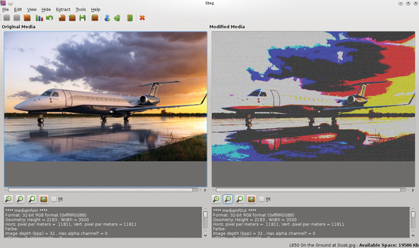 Hide information in images using Steg / 27 / 2015 / Archive