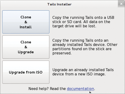 Use the Internet without leaving a trace with Tails 1 5 / 27