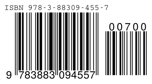 Figure 1 Barcodes With ISBN And Book Price Can Be Conveniently Generated Using LaTeX