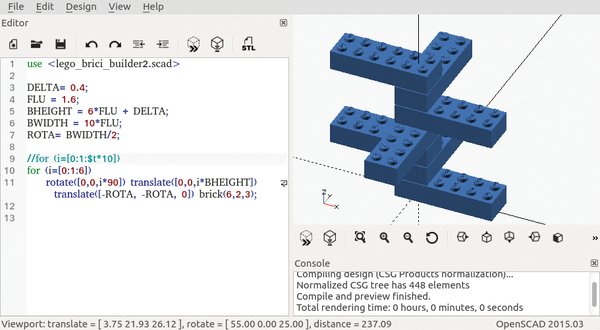 Using OpenSCAD to model 3D structures / 28 / 2016 / Archive